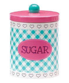 Take a look at this Baked Goods Sugar Jar by Boston Warehouse on #zulily today!