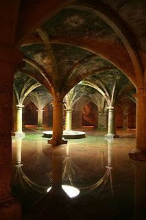 Portuguese cistern - El Jadida (Mazagan old) Morocco. located in the Portuguese citadel - now a World Heritage Site by UNESCO