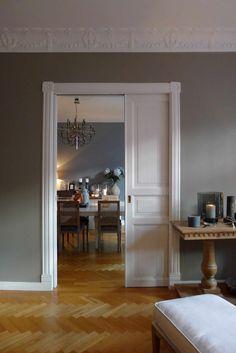 char6 Interior Design Color Schemes, Interior Design Inspiration, Gray Interior, Interior And Exterior, Jotun Lady, Home Panel, Hallway Inspiration, Home Projects, Interior Decorating