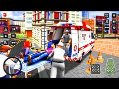 City Ambulance Rescue - Doctor Ambulance Drive - Android Gameplay - YouTube