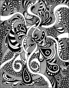 Big Zentangle by PRaile, via Flickr