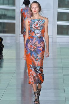 Spring 2015 Ready-to-Wear - Antonio Berardi