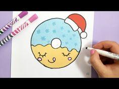 KAWAII SCHNEEKUGEL SELBER MALEN - WEIHNACHTEN - YouTube