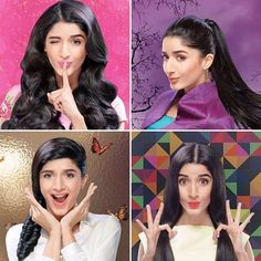 Mawra Hocane The New Face for Sunsilk Fashion Edition 2016 BTS Pictures
