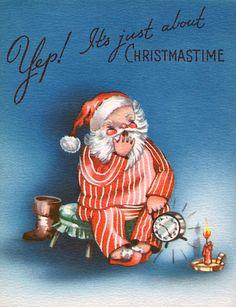 Santa Claus in strip