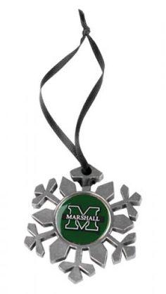 Marshall University The Herd Snowflake Ornament