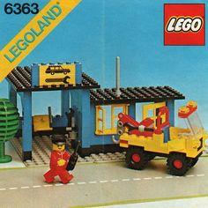 6363-1: Auto Repair Shop | Brickset: LEGO set guide and database