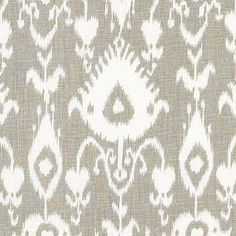 Malabar Gray Fabric by the Yard | Ballard Designs