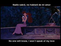 """I Won´t Say I´m in Love"" Latin Spanish With S - YouTube"