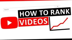 Rank your Video on First Page of Youtube in Minutes - VidRankXpress Video Search Engine, Wordpress Help, Video Caption, Work System, Seo Optimization, First Page, Earn Money Online, You Youtube, You Videos