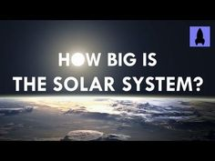 Big is the Solar System? -While we all realize that our solar system is large, we may not have a good idea of just how huge it actually is. Enter the folks from 'It's Okay to be Smart' with the outdoor solar system model they put together for this video 6th Grade Science, Science Curriculum, Elementary Science, Middle School Science, Science Classroom, Teaching Science, Science Education, Science Lessons, Teaching Resources