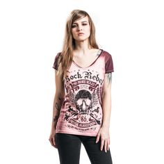 Rock Rebel by EMP  T-Shirt  »No More Rules« | Buy now at EMP | More Rock wear  T-shirts  available online ✓ Unbeatable prices!