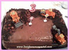 tarta excavadora