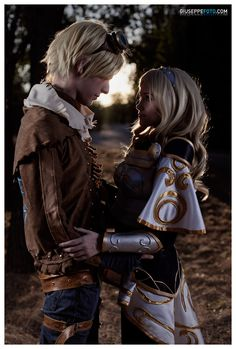 Lux and Ezreal - League of Legends by NunnallyLol.deviantart.com on @deviantART