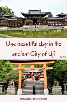 How to make the best of 1 day in Uji, Kyoto - My Timeless Footsteps Tokyo Japan Travel, Japan Travel Tips, Travel Abroad, Asia Travel, Beautiful Places To Visit, Cool Places To Visit, Amazing Destinations, Travel Destinations, Travel General