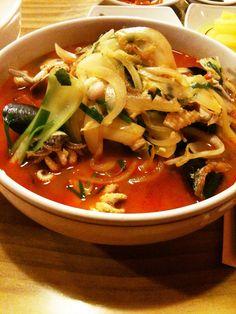 (Seafood) Haemul Jjambbong , Korean food