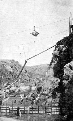 1931 Maroc Le Barrage de l'Oued N'Fis