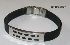 Stainless Steel Adjustable Unisex Bracelet Free Shipping No Fees $12.00