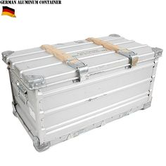 ドイツ軍 ZARGES社製 折畳式アルミコンテナ
