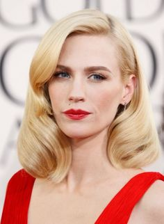 68th Annual Golden Globe Awards - January Jones