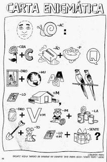 Ensinando com Carinho: Adivinhas com enigmas