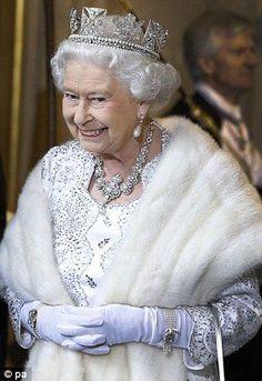 queen elizabeth wearing the diamond diadem | The Queen