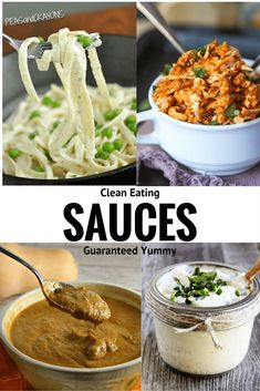 Clean Eating Sauces | homemadeforelle.com