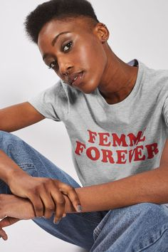 Femme Forever T-Shirt - New In Fashion - New In - Topshop