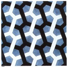 Escher M Optical Illusion Art | Interlaced Hexagon - Optical Illusion M C Escher Art Wallpaper Picture