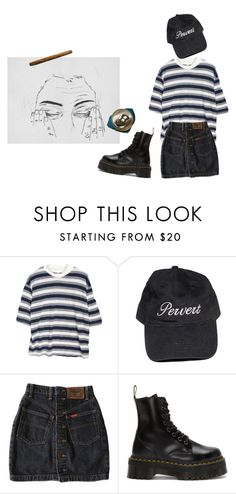 """put ur hand in mine"" by stremilie ❤ liked on Polyvore featuring Dolce Vita and Dr. Martens"