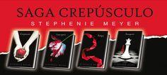 La saga de Crepúsculo. (Estephanie Meyer)