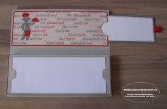Kreativ verpacken konzertkarten 4 Konzertkarten
