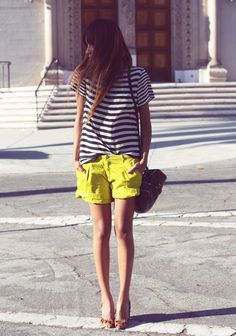 yellow and stripe