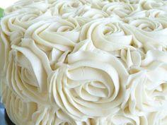 White swirl roses. S