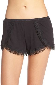 On Gossamer Lace Trim Tap Shorts available at #Nordstrom