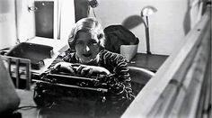 Eva at Hoffmann's photographic studio