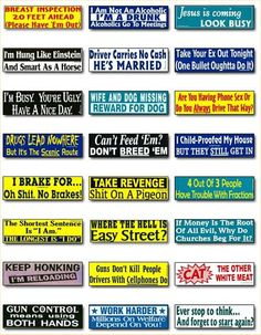 Cool Stickers | cool bumper stickers.-Page 2: Off-Topic Discussion forum: Grassroots ...