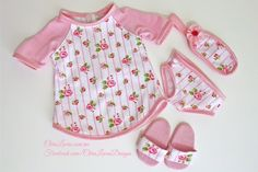 AG Dolls Pajamas - Chris Lucas Designs