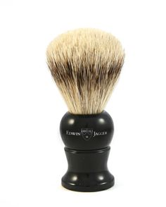 Edwin Jagger English shaving brush medium imitation ebony, super badger-9EJ256 Edwin Jagger, Badger Shaving Brush, Brushes, Beauty, Blush, Paint Brushes, Beauty Illustration, Makeup Brush