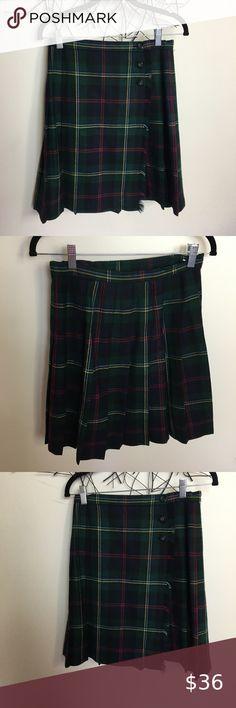Sz 6 6 X Girls Skort Skirts Land/'s End Clothing Summer NEW LOT Set