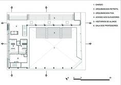 São Luís Sports & Arts Gymnasium,2nd Floor Plan