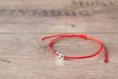 Red String Bracelet Infinity Kabbalah Amulet Talisman Couple Love Women Men Baby #Handmade #Friendship
