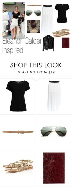 """Eleanor Calder inspired"" by kennedey-lynn-freeman ❤ liked on Polyvore featuring Calder, Filippa K, Linea Weekend, Topshop, Smythson and MuuBaa"