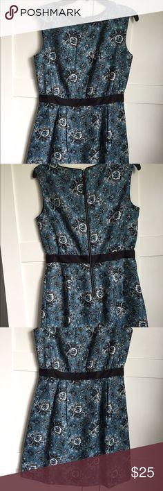 NWOT Blue Paisley Dress from the Loft NWOT Blue Paisley Dress from the Loft. Never worn. LOFT Dresses Mini