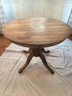 How To Refinish a Table or Desk Saving 4 Six Blog Pinterest