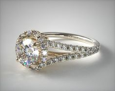 SKU 49504 - Our exclusive Designer Collection is hand-crafted by top designers to offer one-of-a-kind engagement rings you won't find anywhere else. From vintage-inspired styles to settings featuring artistic flourishes, the Designer Collection has something to fit any style and budget.