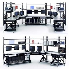 IT Lab Workstations #gadgets #tech