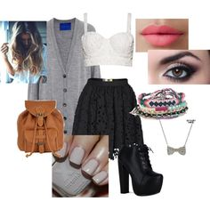 """Out With Friends"" by taherah-begum-1 on Polyvore"