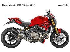 Ducati Monster 1200S Stripe (2015)