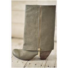 Olive Boots! - I want these SO effing BAD!